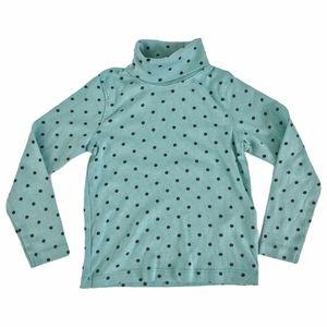 Lupilu Polka Dot Turtleneck Long Sleeve Shirt 4 6